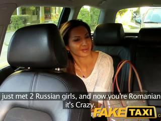 Faketaxi smokin karstās rumānieši markas mans dzimumloceklis izskatīties labs