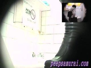 Outflow toilet video- van an amusement arcade part11