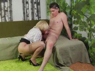 котенце облизване, cock sucking