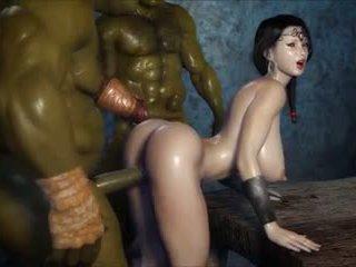 2 geants baisent une jolie fille, bezmaksas porno 3c