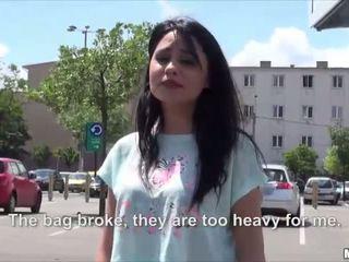 Sexy nóng rumani rides với một stranger