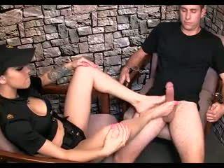 cumshots, voet fetish, femdom