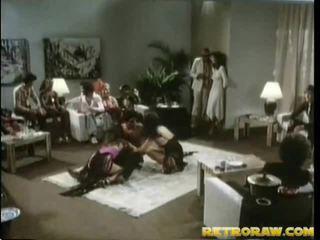 brünett, hardcore sex, grupp fuck