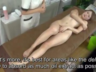 Subtitled enf cfnf اليابانية مثليه clitoris تدليك clinic