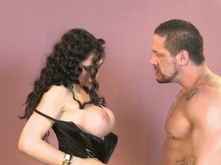 spaans, grote borsten, striptease