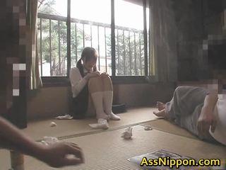 japonês, assfucking, sexo anal