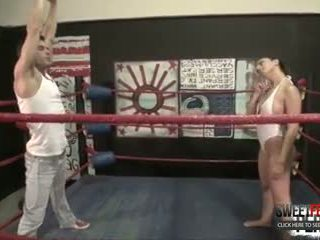 No Rules Wrestling With Roxanne Rae + Lance Hart (Strapon, Switch)
