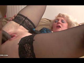 Černý kohout craving pro babičky v tvrdéjádro mezirasový