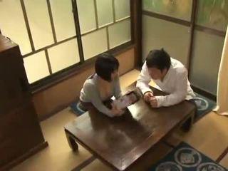 Yuuki maeda has เธอ oustanding จริง นม fondled และ squeezed