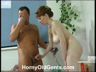 hardcore sex, jachthaven, oude jonge sex