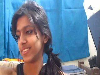 Non-nude mais quente indiana escola gaja em webcam - desibate*