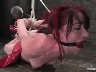 Ginger arachnia webb has hosed e tortured