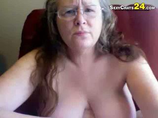 Storas bjaurus močiutė uses seksas žaislai į masturbate
