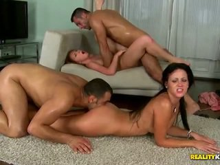 Angie koks in lips licking by reality ...