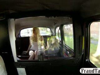 Taxi driver fucks hänen ex lover sisään the perse