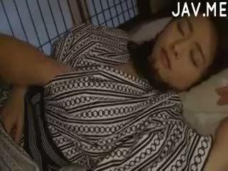 japonês, bebê, amador