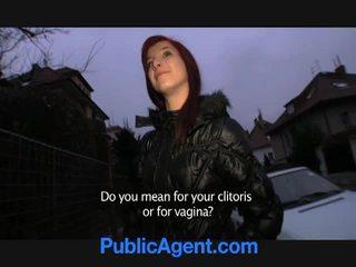 Warga czech si rambut merah goes rumah dengan yang awam agent