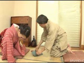 japonijos, egzotiškas, blowjob