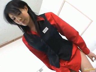 Japans av model aziatisch babe
