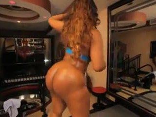 Layla Monroe Strips & Takes Black Dick, Porn 9a