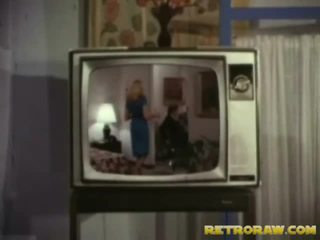 Retro tv prikaži trio