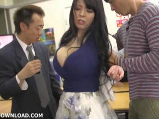 seins, japonais, gros seins