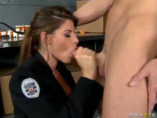 Shagging các nóng nhất cảnh sát luôn luôn madelyn marie trong công an trạm