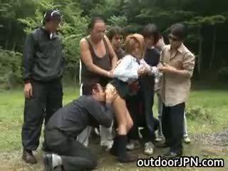 giapponese, sesso di gruppo