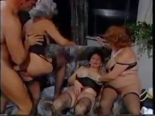 German Granny Group: Stockings Porn Video ae
