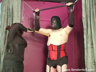 Chunky Back Mistress Punishing