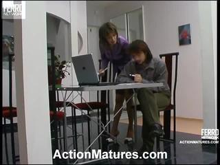 Helena And Danil Astonishing Mature Action