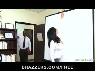 Big-tit lawyer shay sights daydreams über ficken sie boss