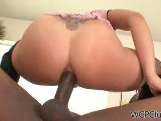 brunette, grote lul, assfucking