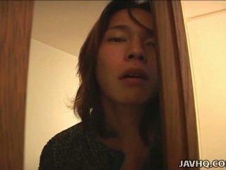 Japonská dospívající gets špinavý v the bath uncensored