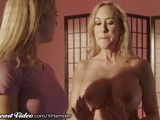 Sweetheart Brandi Love Shows Cherie how to Seduce a.