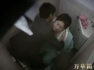 Japans dokter betrapt neuken zijn patiënt video-