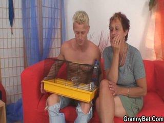 Hunk Screws Neighbour Granny