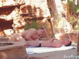 By The Pool - Calvin Koons & Luke Hass