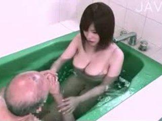 japonês, big boobs, titjob