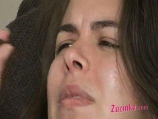 Zuzinka Is Sexy Smoker