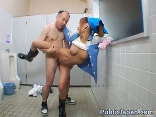 Aziatisch pijpen publiek