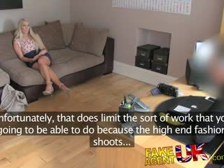 blondes, audition, british