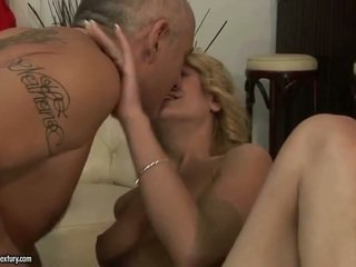 Aged Young Man Having Sex And Kissing Juvenile Pretty