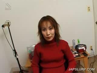 Jap cutie shows sexy assets