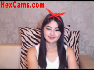 Heet aziatisch webcam meisje mini rok 2