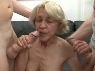 tits, threesomes, ওল্ড + ইয়াং