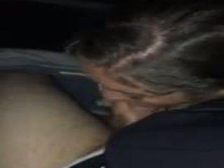 Chica chupando la drivers rabo, gratis rabo chupando porno vídeo