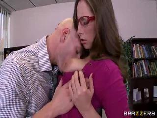 hardcore sex, grote lullen, bril