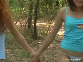 Gay Women Teens Inside The Forest