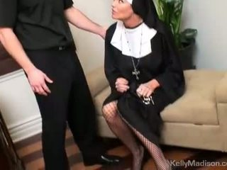 Kelly madison kaznovani s a thick tič v muca